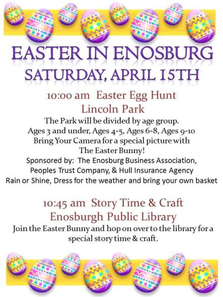 Easter in Enosburgh