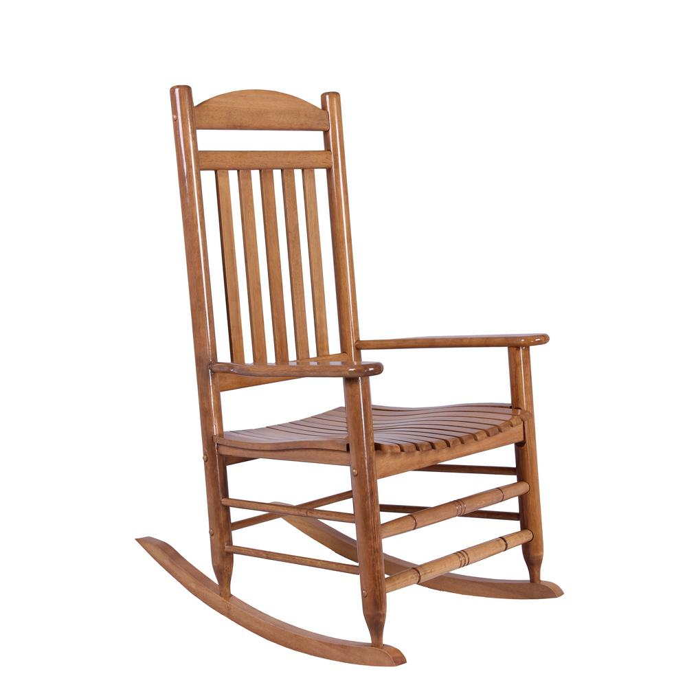 Wooden Rocking Chair Enosburgh Public Library